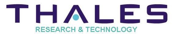 THALES RESEARCH & TECHNOLOGY FRANCE