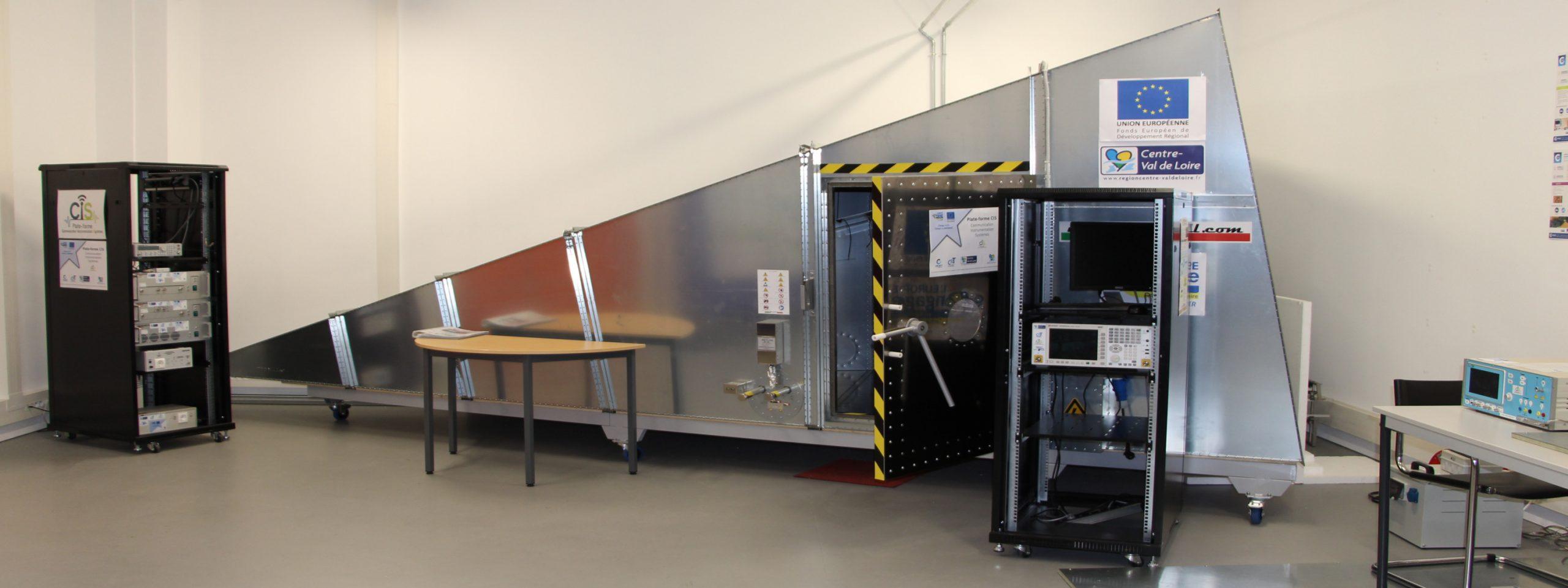 CRESITT Industrie: Mesures de pré-qualification CEM et RF (antennes)